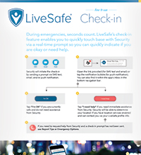 LiveSafe Check-in