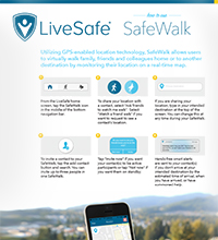 LiveSafe Safe Walk